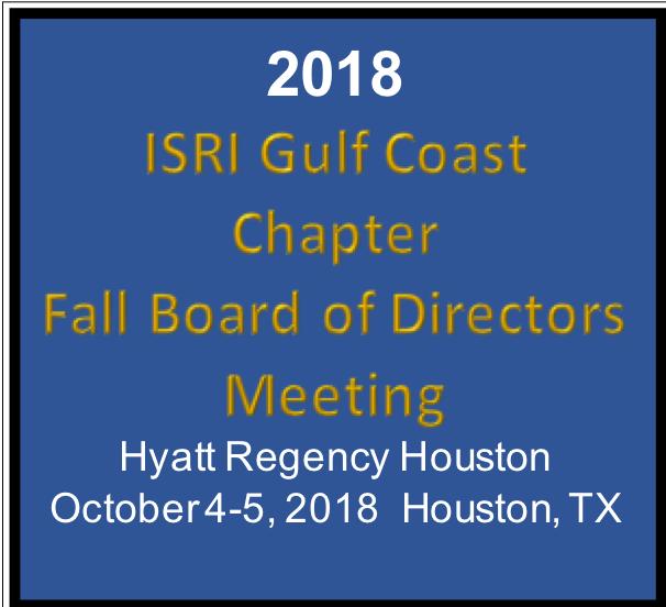GULF ISRI Fall Meeting